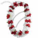 Hawaii Flower Lei Kiana (white/ red)