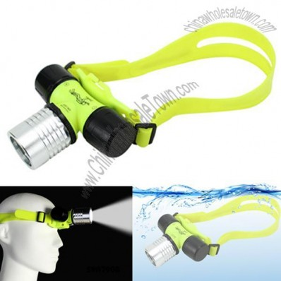 Head Diving Flashlight
