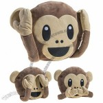 Hear No Evil Monkey Pillow