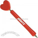 Heart - Eco-friendly wooden ballpoint pen