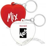 Heart - Tape measure with key chain
