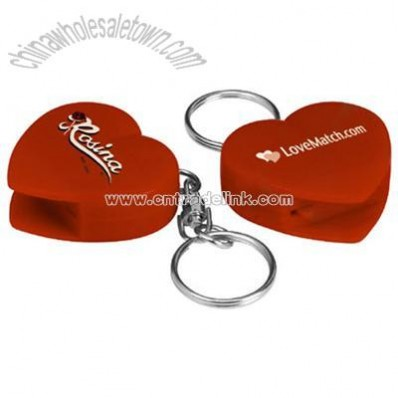 Heart CD Opener Keychain