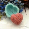 Heart Carving Silicone Cake Mould Cake Pan Handmade Soap Mold Biscuit Mold