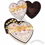 Heart Chocolate Paper Box with PMS Color