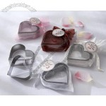 Heart Cookie Cutters in Heart Shaped Organza Bag