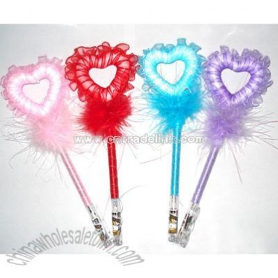 Heart Feather Pen