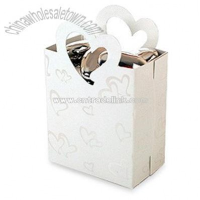 Heart Gift Bag Favor Holders