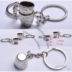 Heart Love Cup Couple Key Chain