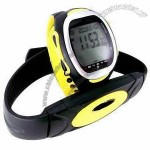 Heart Rate Monitor Watch with Calories and Stopwatch