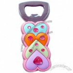 Heart Shape Durable Silicone Bottle Opener