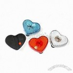 Heart Shape Strobe Light with Clip