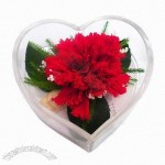 Heart Shaped Artificial Flowers