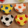 Heart Shaped Ceramic Football Ashtray