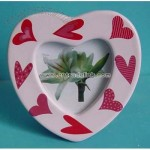 Heart Shaped Ceramic Photo Frame