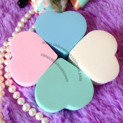 Heart Shaped Cosmetic Puff