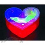 Heart Shaped Flashing ashtray