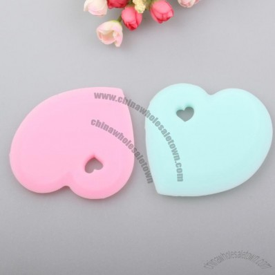 Heart Shaped Silicone Scraper For Butter