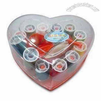 Heart Shaped Travel Sewing Kits