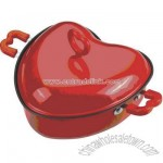 Heart cooking pan
