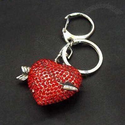 Heart-shaped Keychain