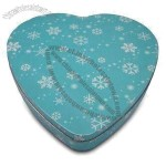 Heart-shaped Tin Box with 0.23mm Thickness