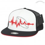 Heartbeat Embroidery New era with Adjustable Strap Trucker Hat