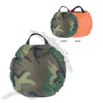 Heat-A-Seat Nylon Thermal Seat - Woodland Camo/Orange