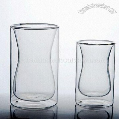 Heat-rasistant Double Wall Glass Tumblers