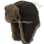Heather Wool Flap