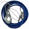 Heavy-Duty 12' Emergency Tow Cable with Safety Hooks - 3/8
