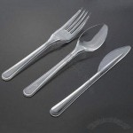 Heavy Weight Middle East Style Plastic Cutlery, Featuring Cold-& Heat-resistant