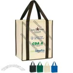 Heavy duty extra strong super value shopper tote bag
