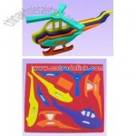 Helicopter Pattern Foam Puzzle