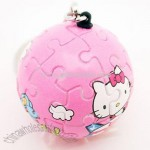 Hello Kitty 3D Puzzle Key Chain (Pink)