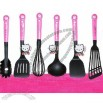 Hello Kitty Cooking Utensils Turner Scoop Ladle Set