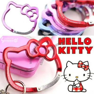 Hello Kitty Face Carabiner