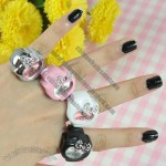 Hello Kitty Fashion Ring Watch