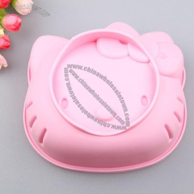 Hello Kitty Head Silicone Cake Mould