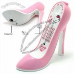 Hello Kitty High Heel Shoe Phone