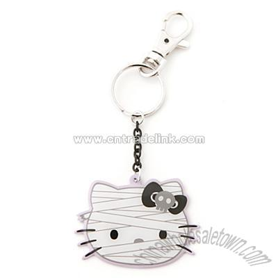 Littlest Pet Shop Cat Keychain & Keyring · Hello