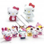Hello Kitty Plastic Toys