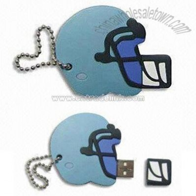Helmet-shaped USB Flash Drive