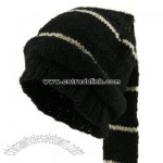 Hemp and Wool Ski Cap - Tassle