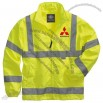 Hi-Vis Custom Embroidered Windbreaker