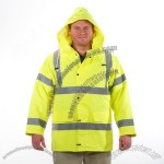 Hi Visibility Long Winter Jacket Class 3
