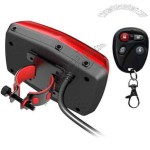 Hidden Lamp GPS 304-B Motorcycle Anti Theft GPS Trackers