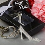 High Fashion Shoe Design Metal Key Chain