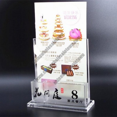 High Quality Business Card And Menu Holders