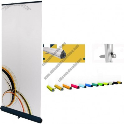 High Quality Colorful Base Adjustable Roll Up Banner Stand 33