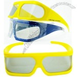 High Quality Linear Polarized 4D Glasses for 3D 4D 5D Movies